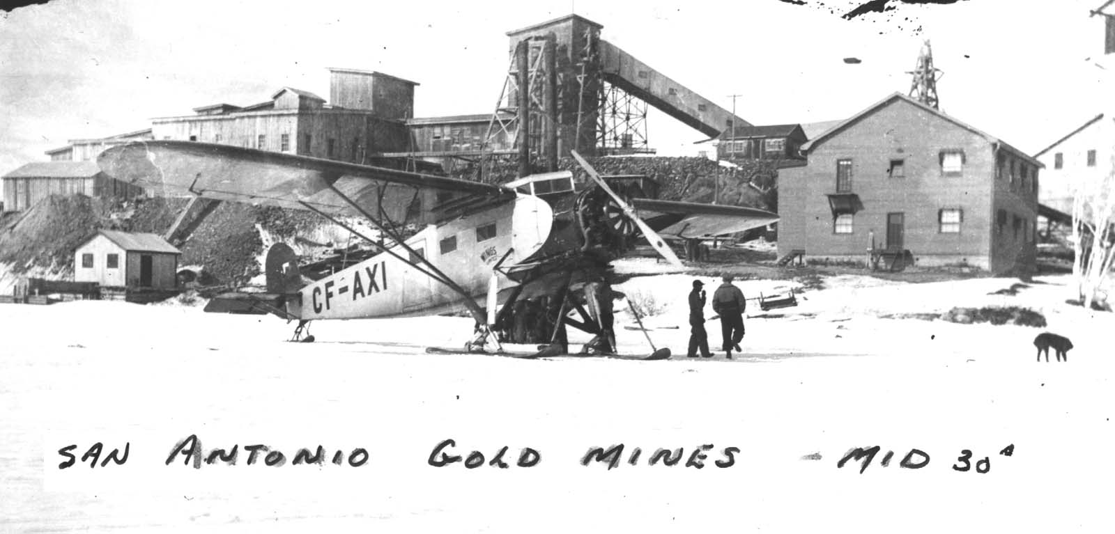 san-gold-winter-freight-plane