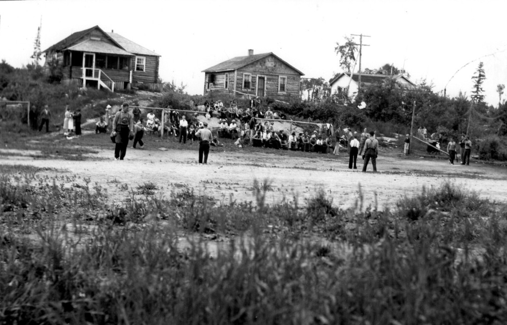 1st of July baseball game, Beresford Lake, 1940