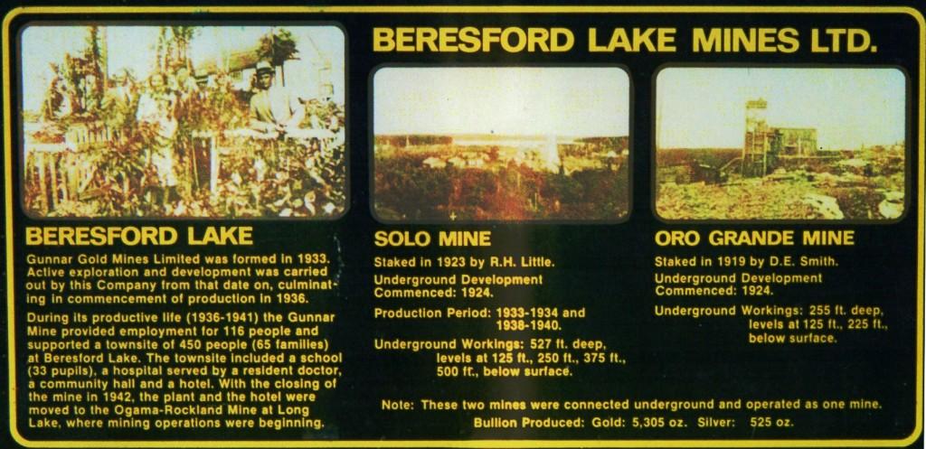 beresford sign